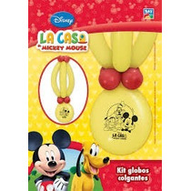 Mickey Globos Colgantes Kit Deco Cumple Mickey Mouse Minnie