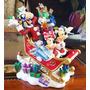 Disney Parks Adorno Navideño Trineo Con Mickey Y Amigos!!!