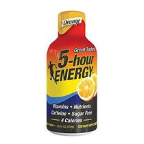5 Horas Bebida Energética De Naranja Disparó 6 Conde