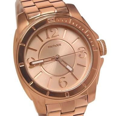 a6108a5ff5b Relógio Tommy Hilfiger Feminino Rose 12 X Sem Juros - R  789
