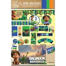 Kit Imprimible Personalizado Gran Dino Deco Y Candy Bar !