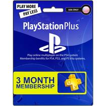Psn Plus Card 3 Meses Ps3 Ps4 Vita Envio Inmediato Usa