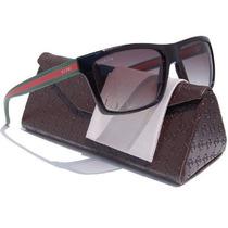 Gafas Gucci Gg1013 / S Sunglasses Brillante Marco Negro / G