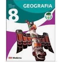 Livro De Geografia 8 - Projeto Araribá Usado - Moderna