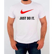 Camisetas - Just Do It - Nike - Estampa - Personalizada