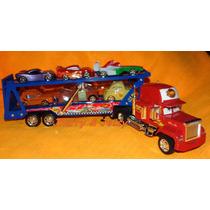 Caminhão Mack Cegonha E 06 Amigos Carreta Cegonha 50cm