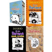Coleção Completa Diário De Um Banana - Box + 3 Livros