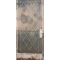 Porta Antiga De Ferro Fundido E Portao De Ferro Duas P 1970
