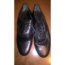 Zapatos Danzas Hombre - Español Jazz - Cuero - Liquidacion