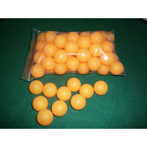 Pelotitas De Ping Pong Pack Bolsa X 50 Unidades