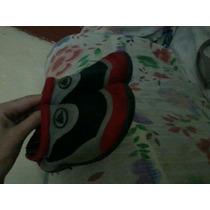 Zapato De Playa De Niño Rojos Con Negro Quicksilver Talla 27