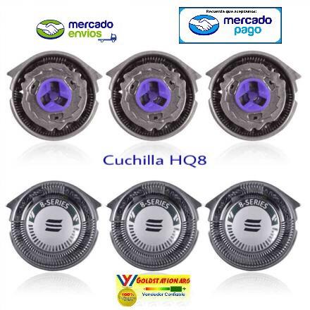 Cuchillas Afeitadoras Philips Cabezales Afeitadoras Hq8 50 -   589 ... ede551196493