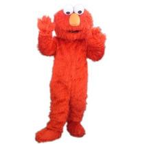 Botarga Disfraz Traje Tamaño Adulto Elmo Plaza Sesamo Pm0