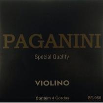 Paganini Jogo De Corda Violino Pe950 Special Quality