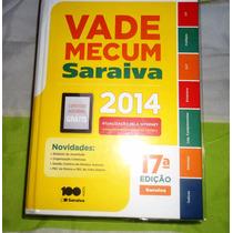 Livro Vade Mecum Ano 2014-editora Saraiva-17 Ediçao-novo