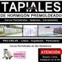 Tapiales De Hormigón - Placas - Cerco - Muros - Paredes