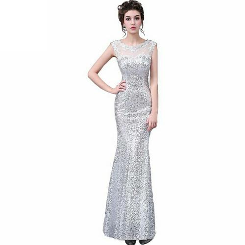 Evening In Spedizione Libre 00 Dress Extra Silver Size Normal gratuita2 Mercado 500 Party 5L3j4RA