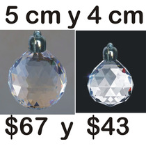 Esferas Navideñas De Cristal Cortado.. Envio Gratis Dhl