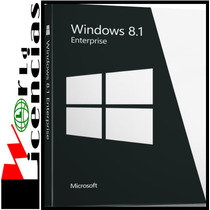 Windows 8.1 Enterprise Licencia Original Para 1pc
