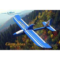 Moto Planador Easy Star - Rodas E Adesivos - Kit P/ Montar!