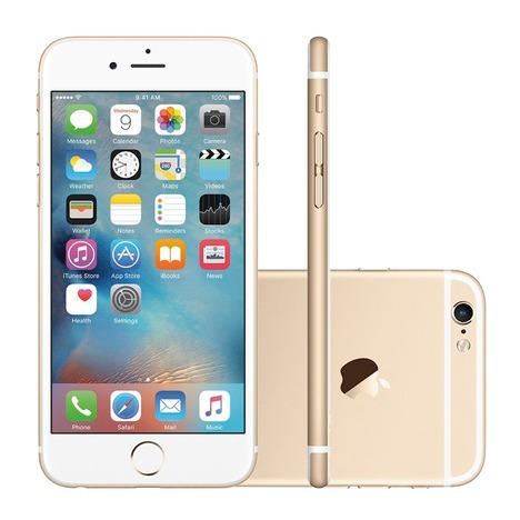 7021260c7 Smartphone Apple iPhone 6s Rfb 16gb Dourado Mais Barato! - R  1.899 ...