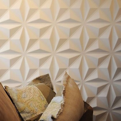 Revestimento de parede 3d placas pvc formix sicilia m for Placas pvc para paredes