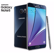 Samsung Galaxy Note 5 32gb 4g Azul + Cargador Inalambrico
