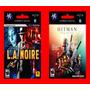 L.a. Noire + Hitman Trilogy Hd Digital Oferta Ps3