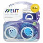Set De Chupones Nocturnos Luminosos Philips Avent 0-6 Meses