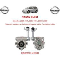 Bomba Licuadora Direccion Hidraulica Nissan Quest 2004