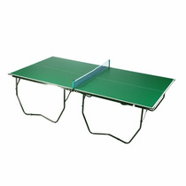 Mesa De Ping Pong Profesional Kit Red Y Ruedas Excelente