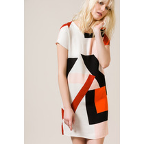 Vestido Color Portsaid Blocks Cage