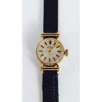 Reloj Girard Perregaux Para Dama Oro Sólido 18 Kilates Vinta