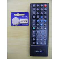 Controle Som P/ Carro H-buster Hbd 9560/ 9750/ 9540+ Bateria