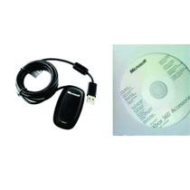 Receiver Original 100% Ctrl Wireless Xbox360 Para Pc + Frete