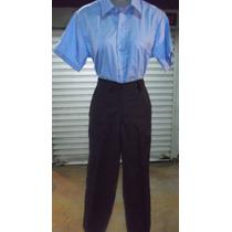 Pantalon Escolar Niña. Somos Fabricantes Mayor Y Detal