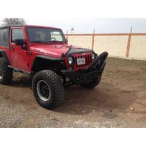 Defensa Delantera Jeep Jk Full Size Base Winch Faros Stinger