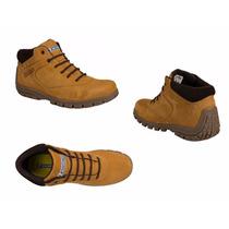 Bota Hiker Michelin St Id 157008 Miel Hombre Piel