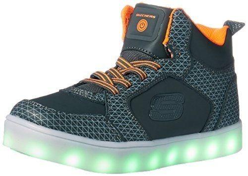 Skechers Luces Para Zapatillas De Led Deporte Niños 90604l rfqry4pSwv