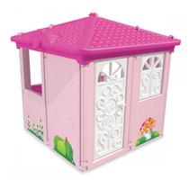 Brinquedo Playground Casa Barbie Rosa Xalingo Frete Gratis