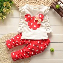 Conjunto Infantil Minnie Calça+blusa Pronta Entrega