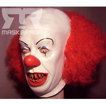 Máscaras De Látex It, Payaso, Terror Disfraz,halloween