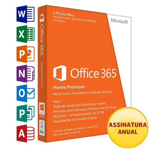 chave office 365 home 2018