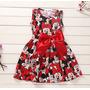 Lindo Vestido Minnie Festa Infantil Pronta Entrega