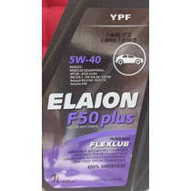 Oleo Elaion 5w40 F50 Plus 100% Sintetico Api Sn Kit C/ 04