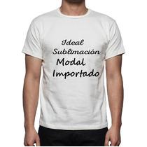 Remeras Hombre Sublimación Modal Premium Fabrica
