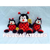Joaninhas De Pelúcia Kit Com 3