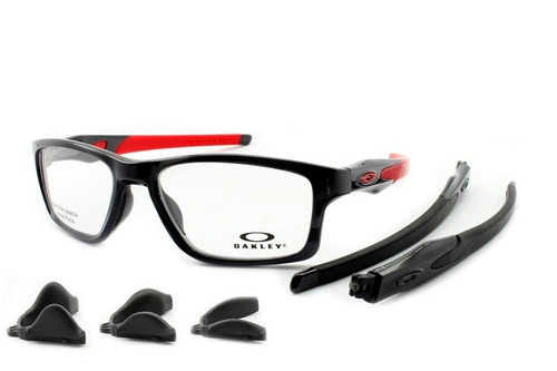 a2ad3abdcac35 Armação Óculos Grau Oakley Crosslink Mnp Ox8090 55 Original - R  449 ...