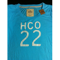 Camiseta Hollister Original / Feminina Tam L/ Trazida U S A