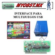 Interface Para Multijuegos Usb Maquinas Tragamonedas